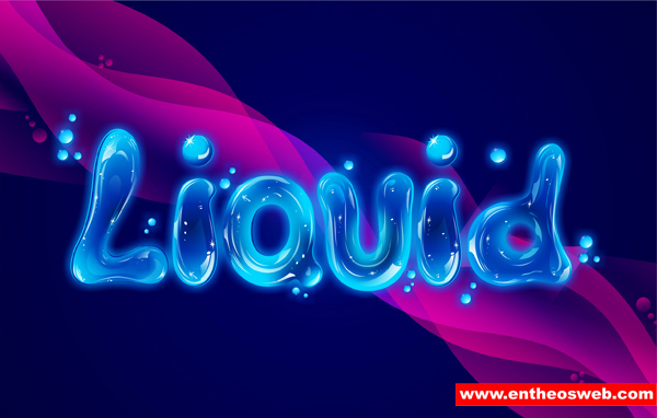 Letter Word Out Of Liquid