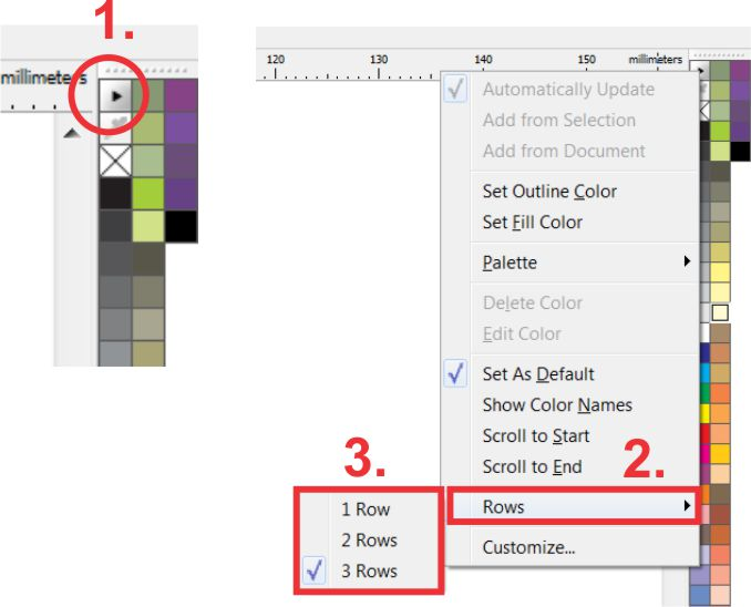 The tip of the week increase number of color examples that you see the tip of the week increase number of color examples that you see on coreldraw palettes coreldraw tips tricks tutorials and more blogs coreldraw ccuart Choice Image