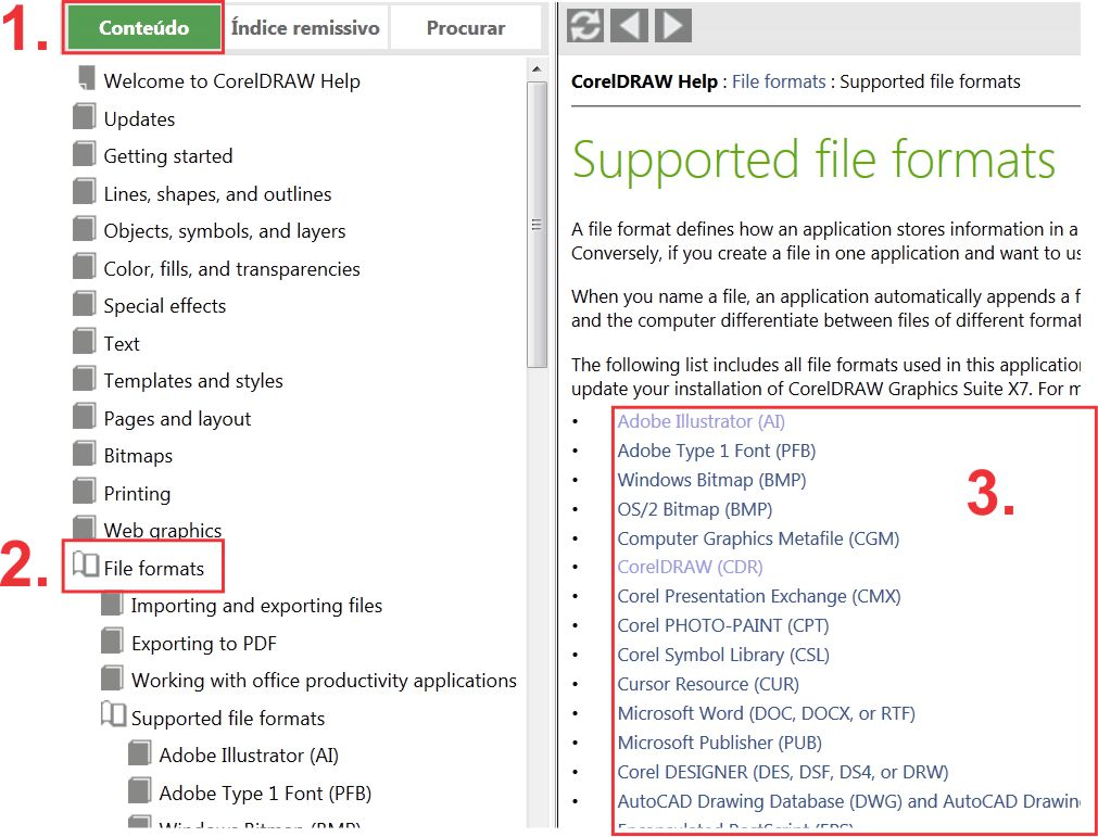 The Tip of the Week: Which file formats are supported by