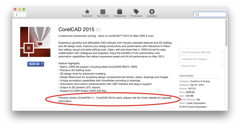 CorelCAD 2014 license