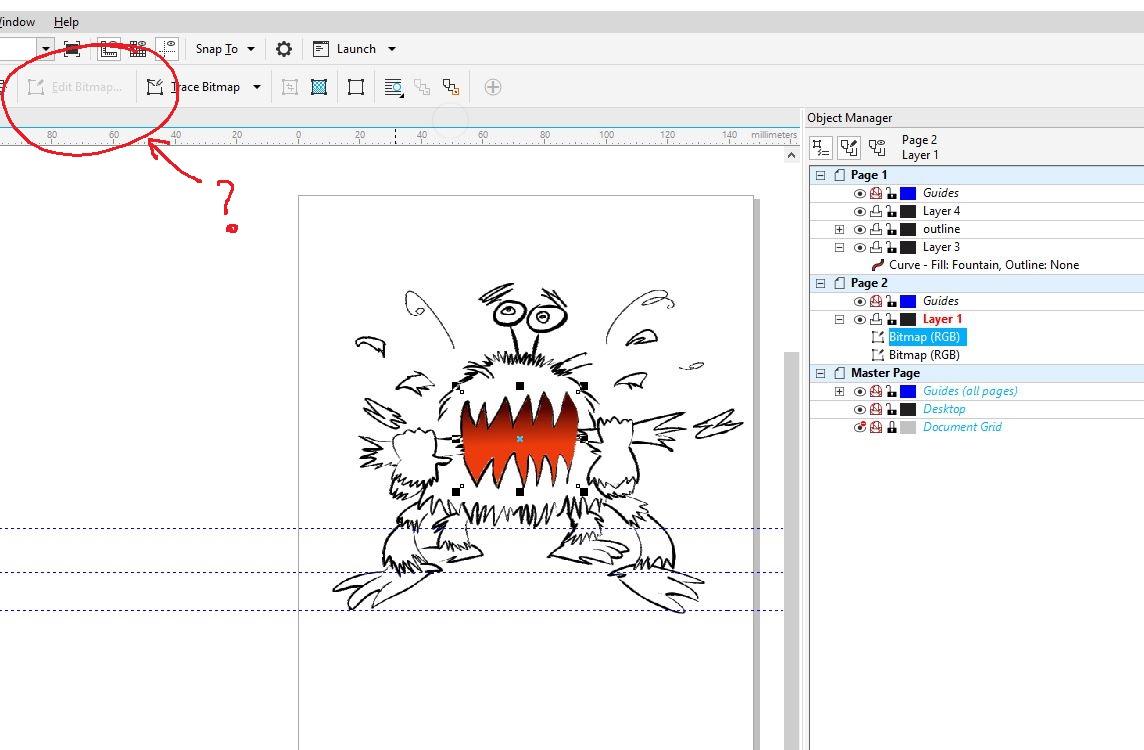 Editing Bitmaps Through Corel X8 Coreldraw Graphics Suite X6