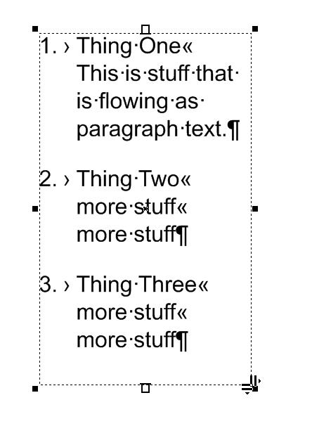Stupid question about paragraph text - CorelDRAW Graphics Suite X7