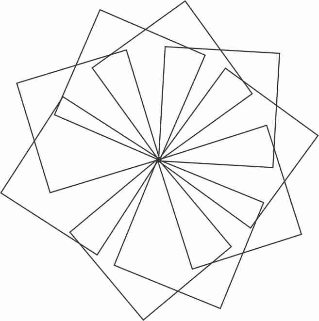 Creating Flower With Geometric Shapes Coreldraw Graphics Suite X7