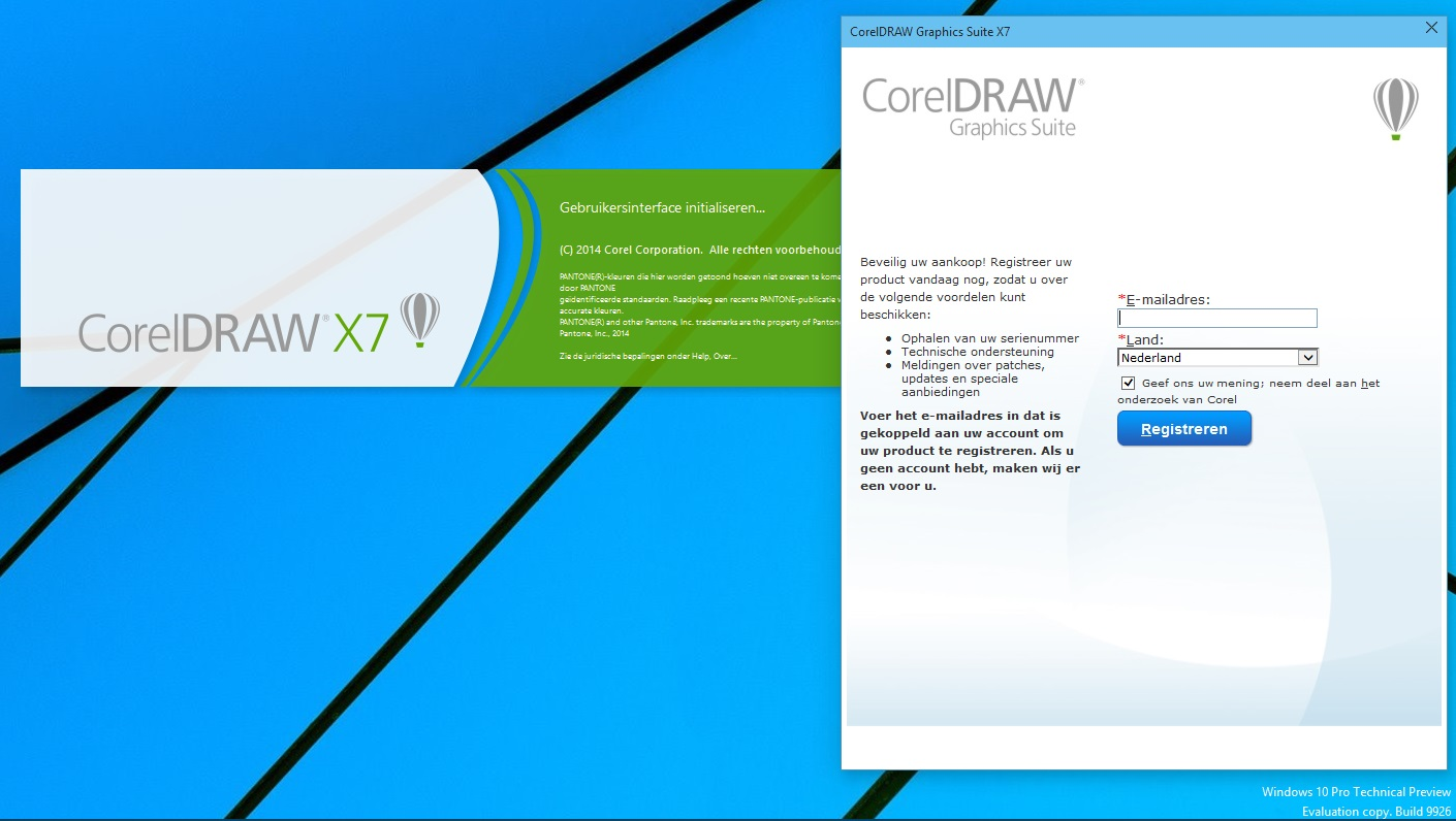 Corel draw for windows 7 - Bart Stens The Netherlands