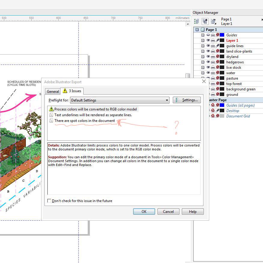 how do i find spot colours in my document coreldraw x7 rh community coreldraw com CorelDRAW Art Adobe Photoshop
