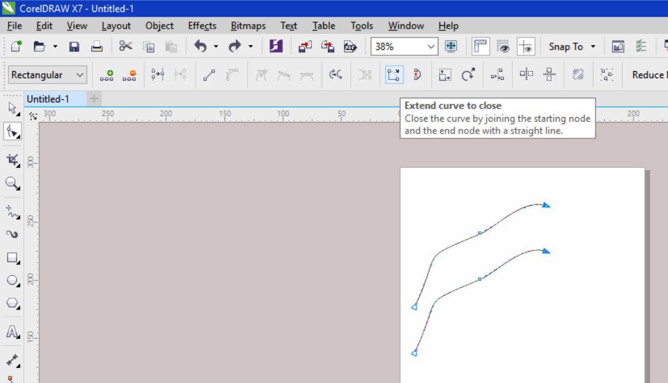 how to add cut contour in coreldraw x7
