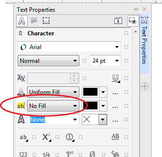 because nothing is selected instead of applying the setting you should see the default setting option instead
