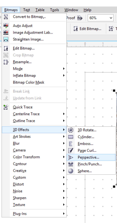 Perspective For A Photo Stretch Coreldraw X7 Coreldraw Graphics Suite X7 Coreldraw Community