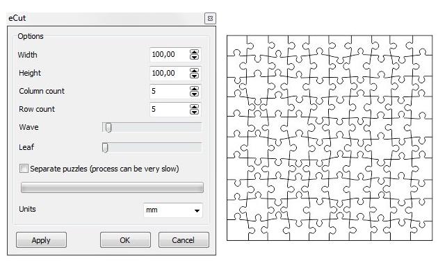 Jigsaw puzzle - CorelDRAW X7 - CorelDRAW Graphics Suite X7