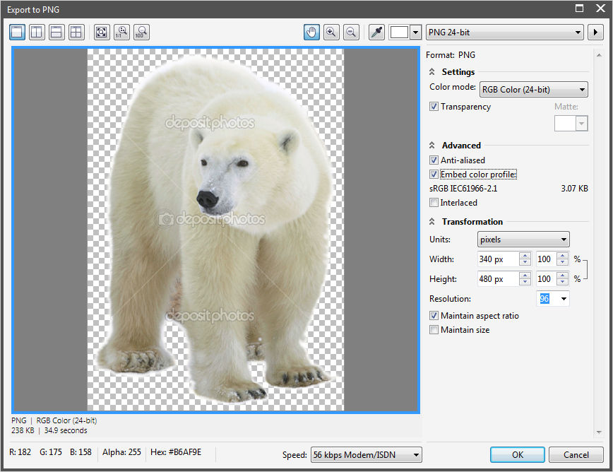 How To Make An Object Transparent In Corel Paint X