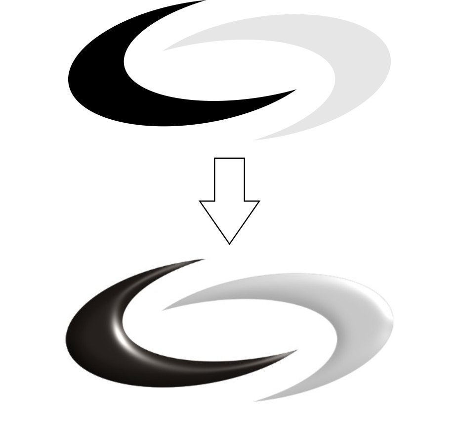 How do I create a smooth 3D curved surface effect ? - Corel PHOTO