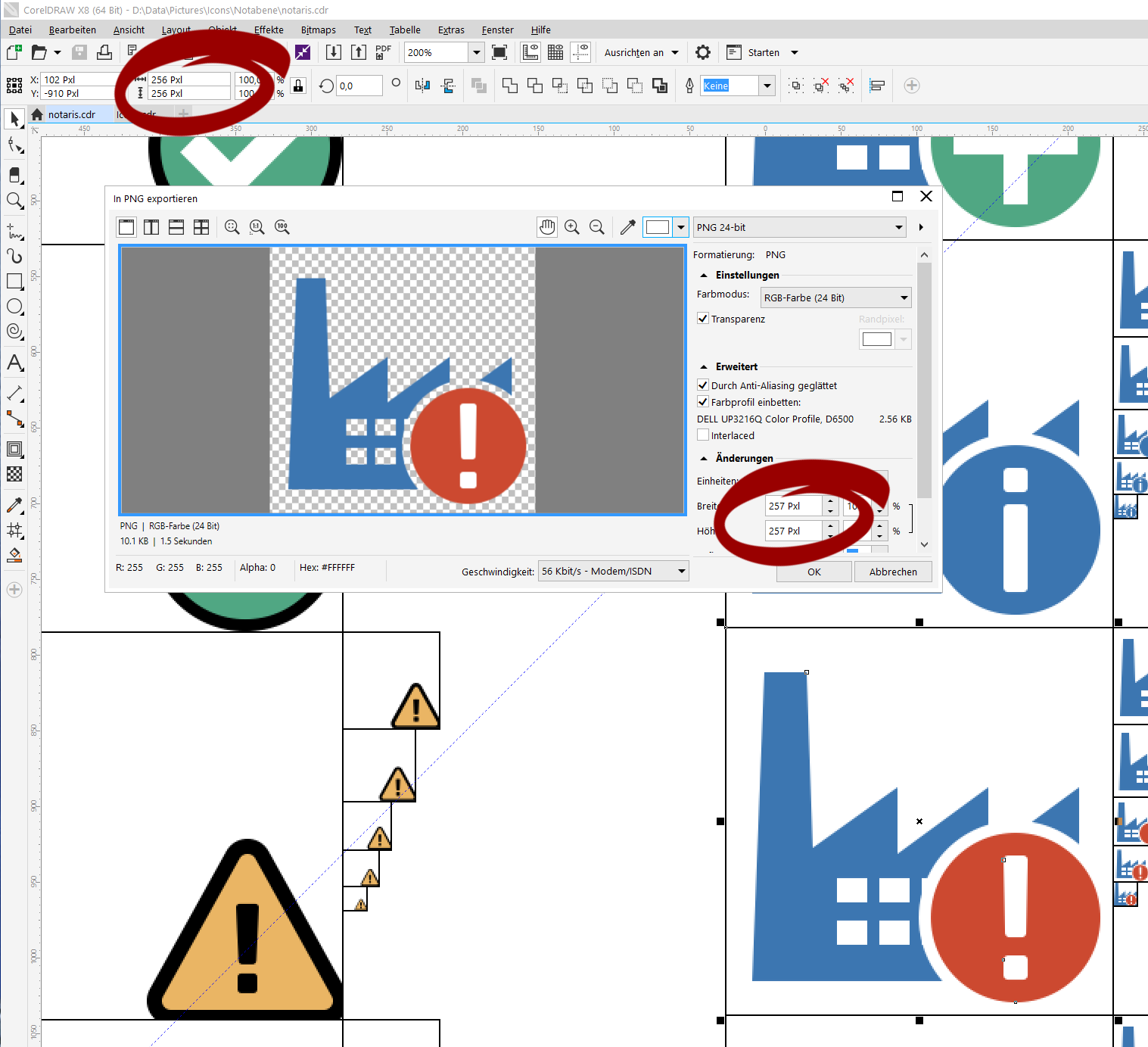 how to use transparency tool in coreldraw x8