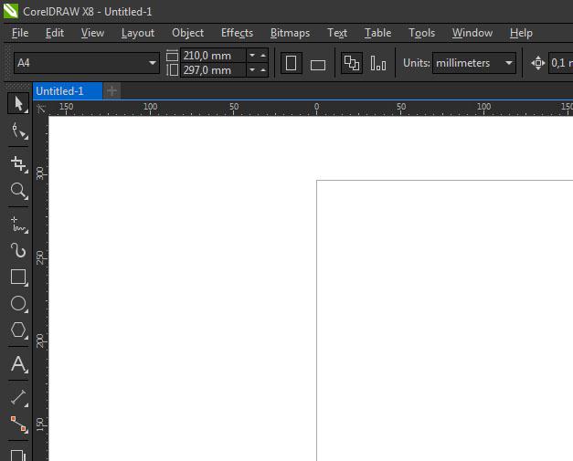 CorelDraw X8_where is Arrange Menu? - CorelDRAW X8
