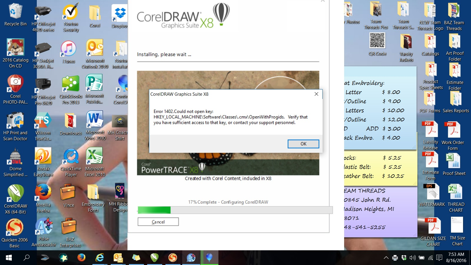 corel draw 12 install windows 10