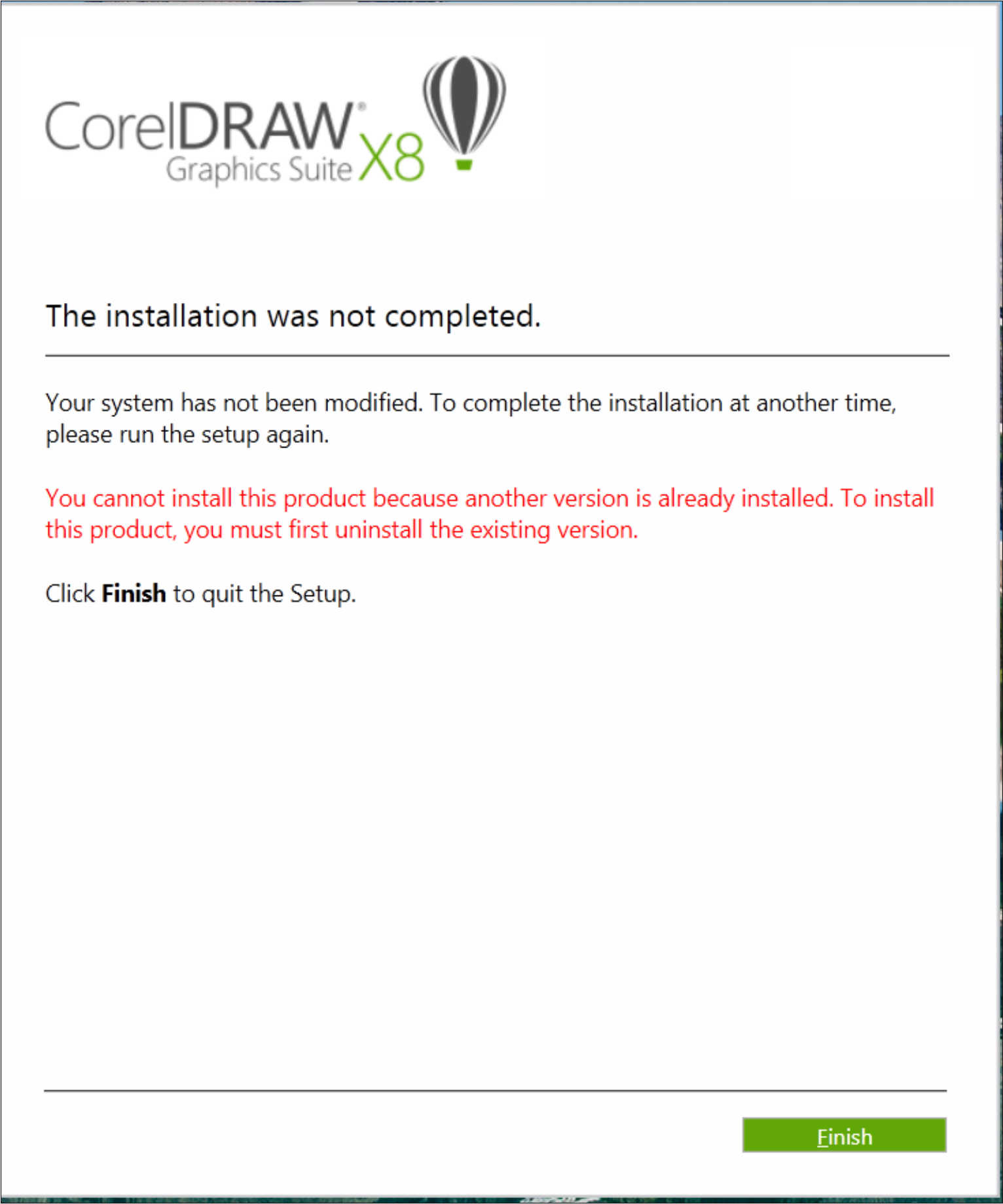 Corel draw version - Okay After Reinstalling Windows 7 Pro And Visual Studio Suite And A Slew Of Other Junk I Got This Message