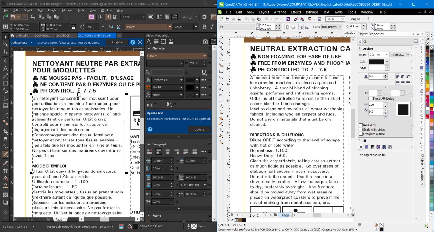 Coreldraw X8 Font Issue - CorelDRAW Graphics Suite X8