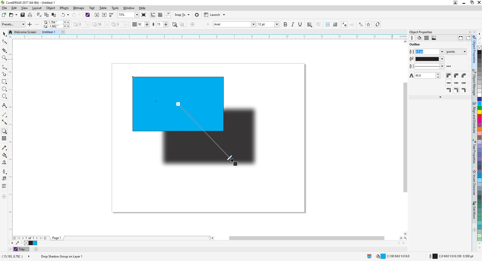 Coreldraw version 12 -  The Property Bar Or Anywhere Else In This Version Many Of The Property Bar Options Are Grayed Out Maybe I M Just Blind Can You Describe Where It Is
