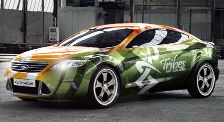 Vehicle Wrap Help CorelDRAW Graphics Suite X3 CorelDRAW X3 – Vehicle Wrap Templates
