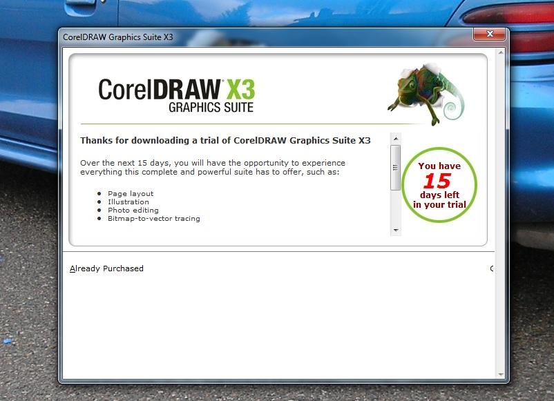 download corel draw x3 old version