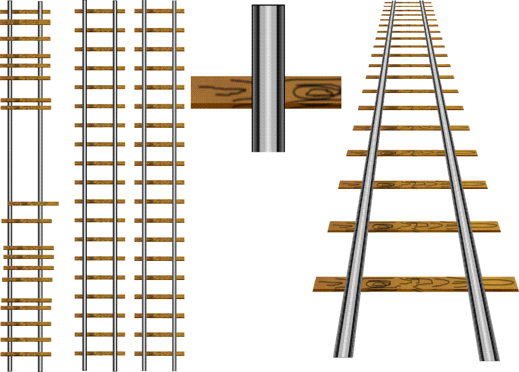 Drawing a railway line - CorelDRAW Graphics Suite X3 ...
