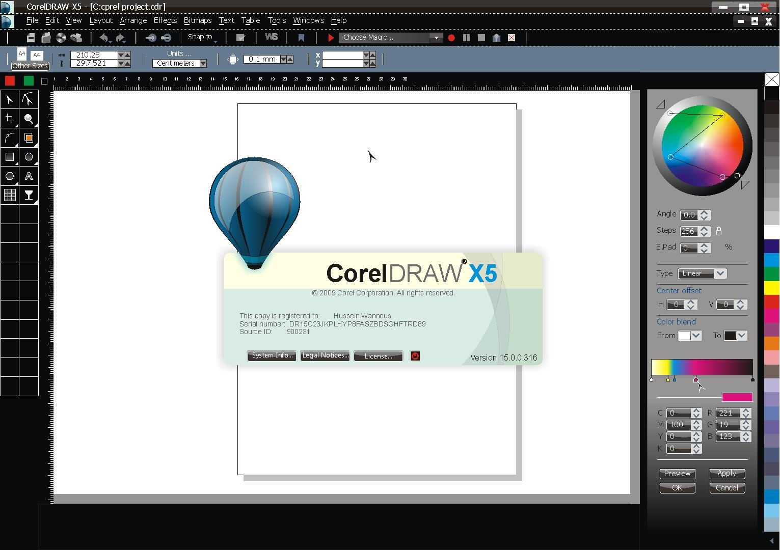 Corel draw version - Corel X5 2 Jpg