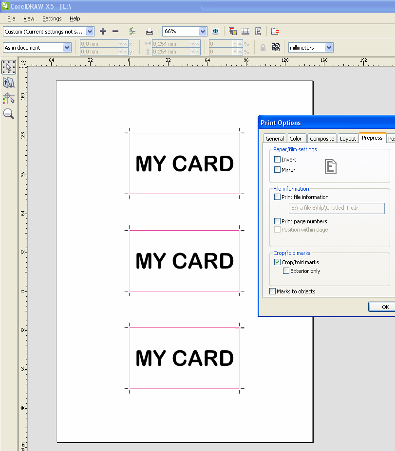 how to crop an image in a pdf file