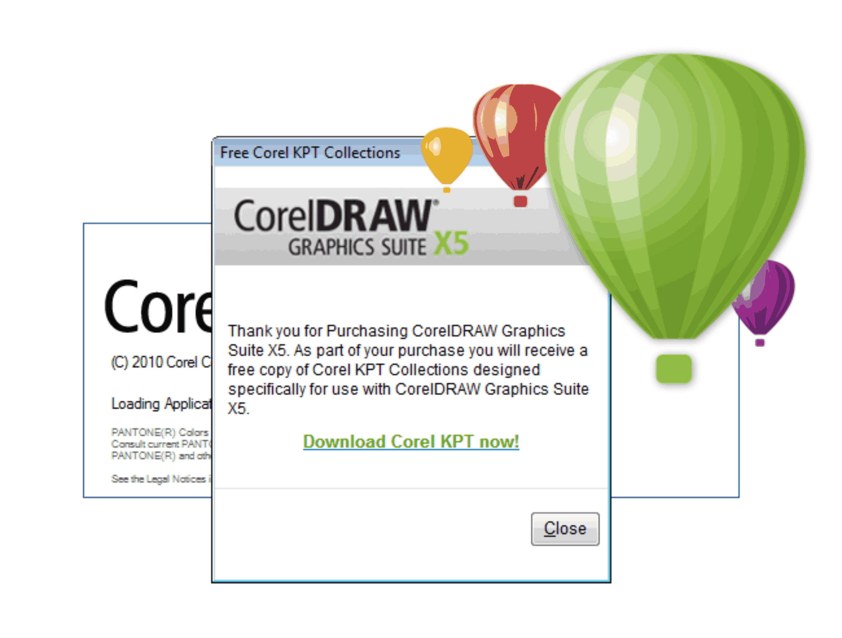 Coreldraw color palette free download - Kpt
