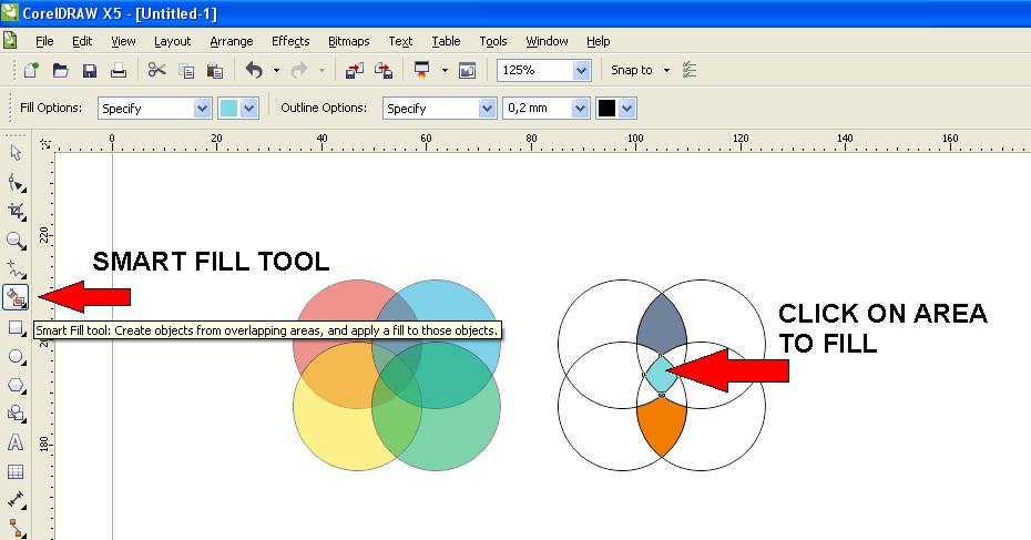 How to Create a Venn Diagram - CorelDRAW Graphics Suite X5 ...