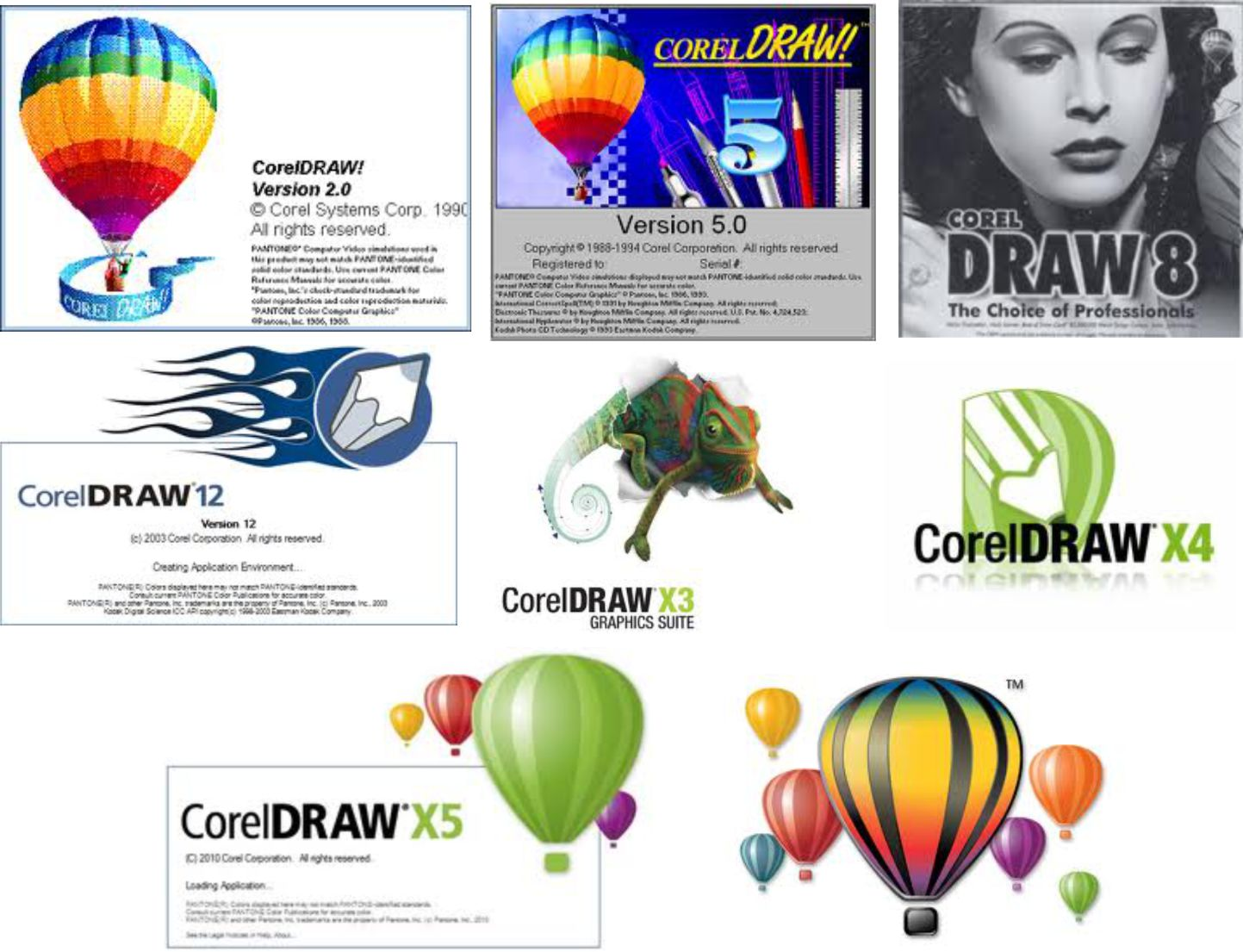 Corel draw version - Logos_corel