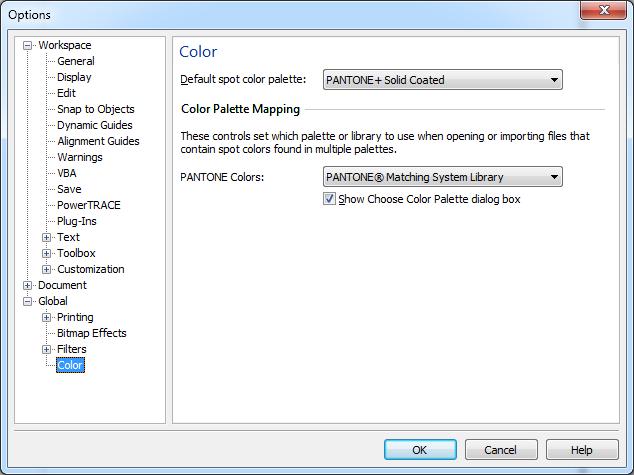 corel draw x6 pdf settings