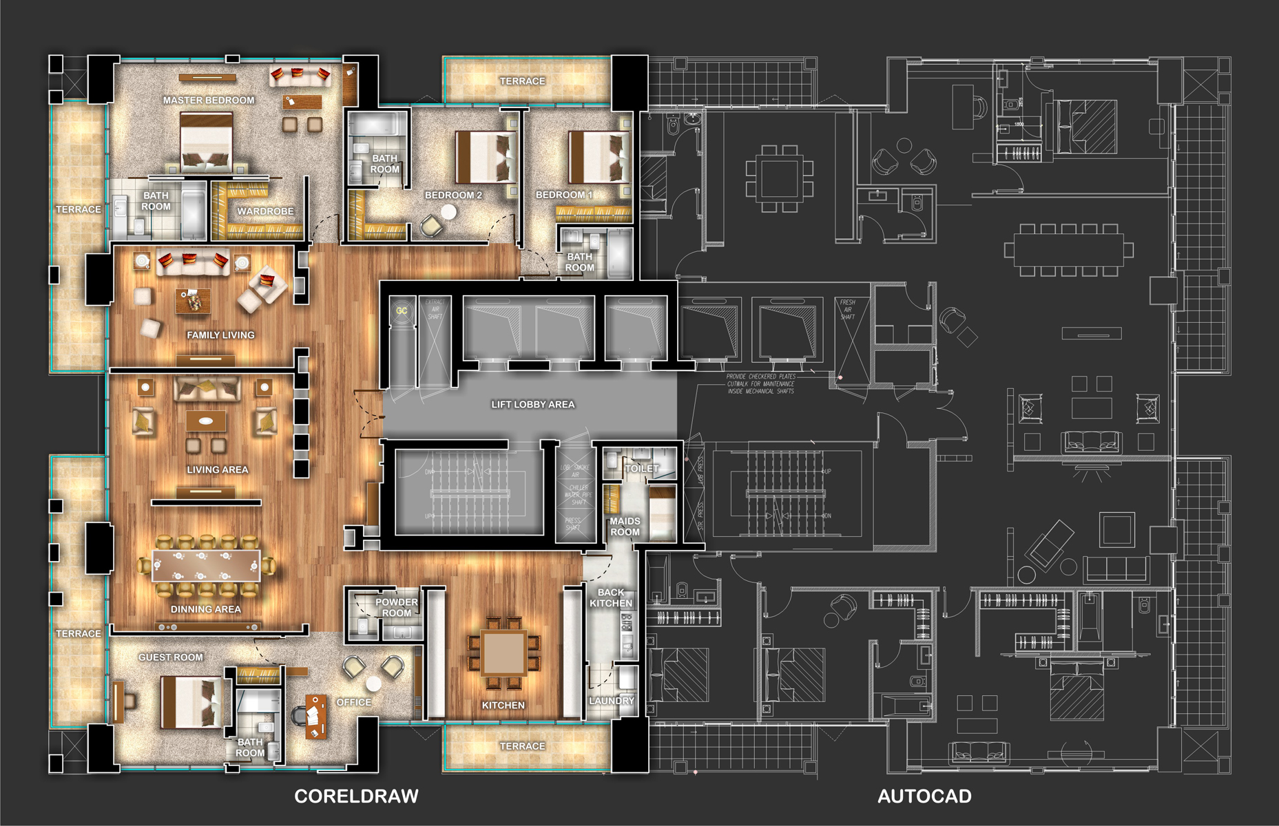 Penthouse Layout Zdesign S Gallery Galleries Coreldraw Community