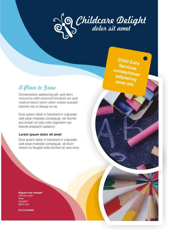 Childcare UK - Poster - CorelDRAW Graphics Suite X4 Templates ...