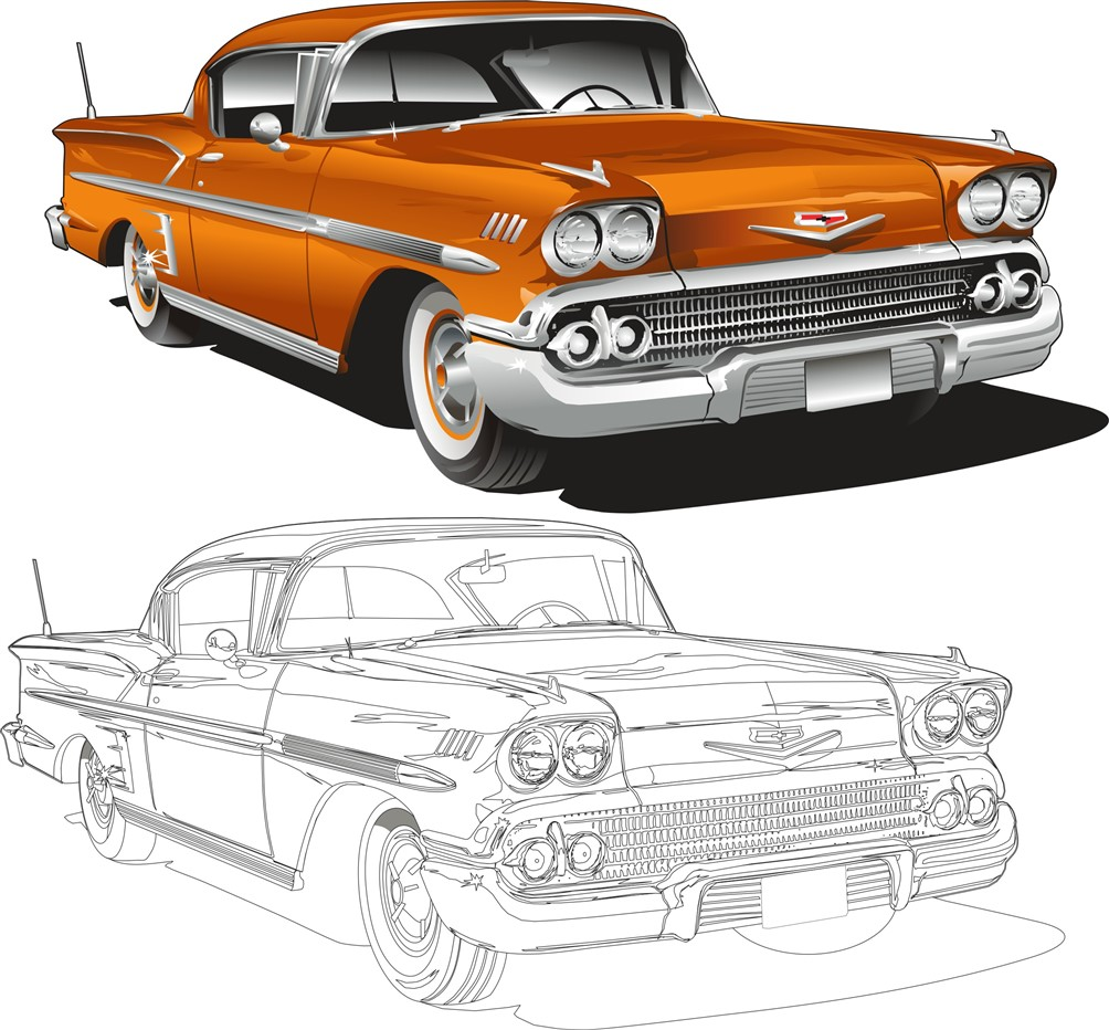 Impala Vector Brent Waldens Gallery Community Galleries ABC - Car show t shirt design ideas