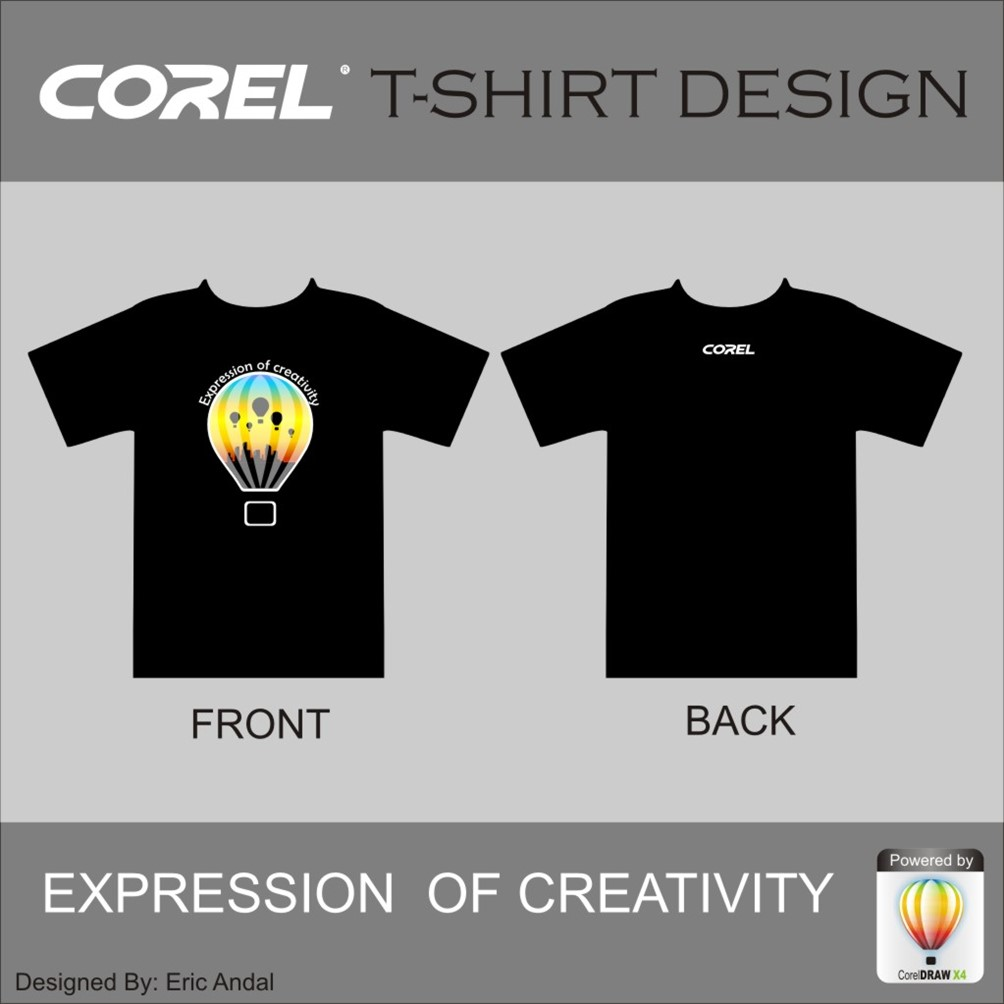 How to design t shirt in corel draw - Corel T Shirt Design