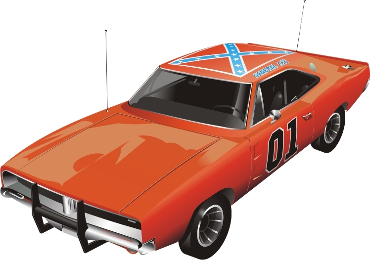 how to draw the general lee
