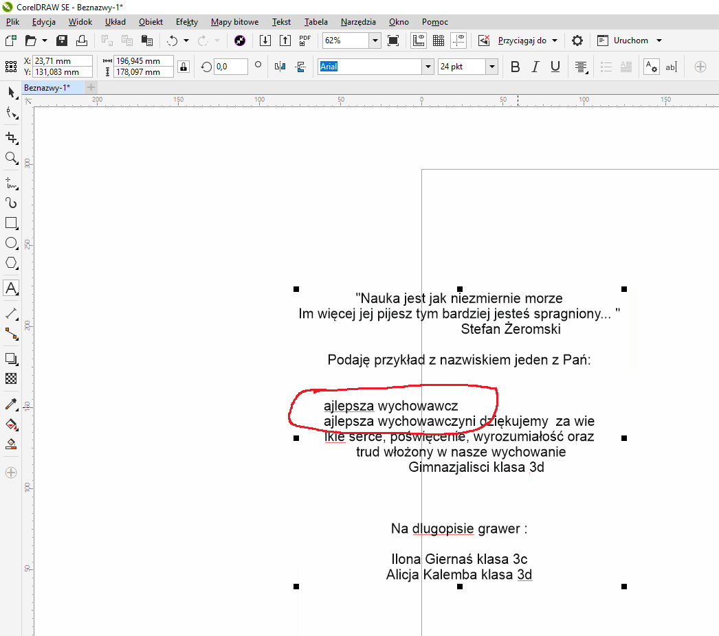 Corel Draw 2018 refreshing issue while text editing - CorelDRAW
