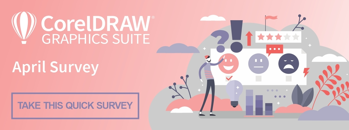 CorelDRAW Graphics Suite April user survey