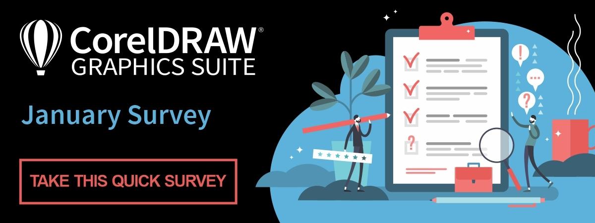 CorelDRAW Graphics Suite December user survey