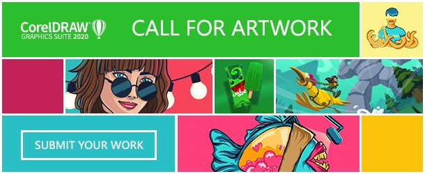 Submit your CorelDRAW design work