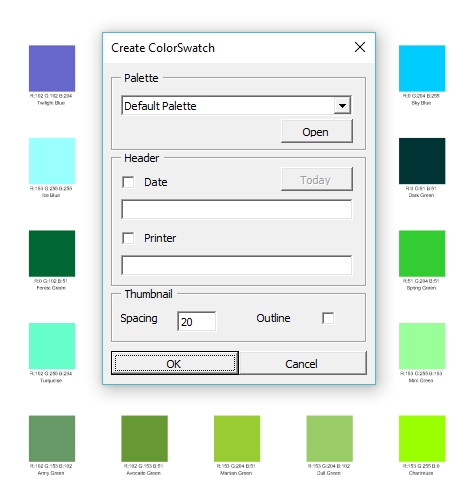 The Tip Of The Week Create Your Own Print Color Palettes A Must In