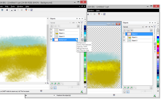 making a background  The Tip of the Week: Making a Background object transparent ...