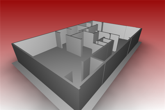 Corelcad Extrude To Create 3d Floor Plan Corelcad