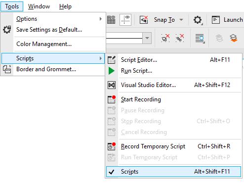 Macro Management in CorelDRAW Graphics Suite and CorelDRAW