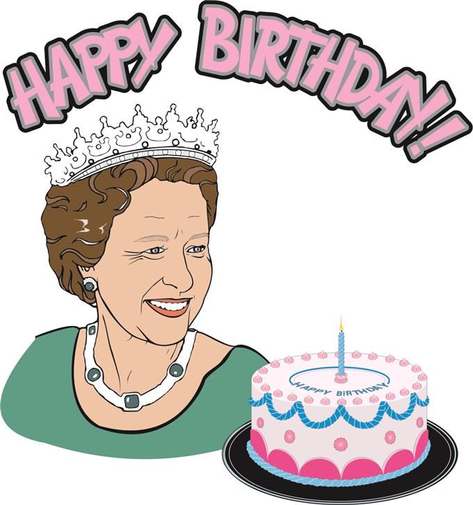 queen's birthday clip art - photo #4