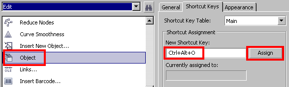 bug in keyboard shortcut for Barcode wizard - CorelDRAW Graphics
