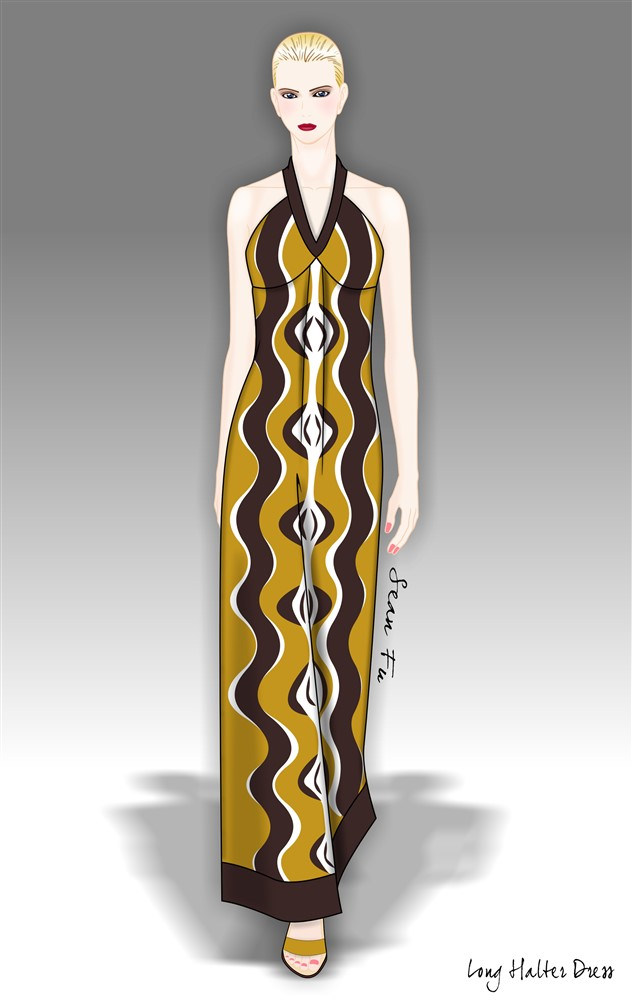 My First Fashion Illustration For Woven Coreldraw X4 Coreldraw Graphics Suite X4 Coreldraw Community