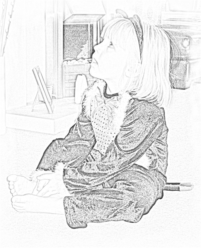 Line Art Corel : Turning a photo into sketch corel paint