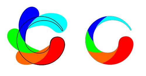 How To Make Multiple Swirl Design Circle Coreldraw X5 Coreldraw