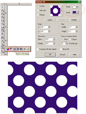 how to remove background corel draw x7