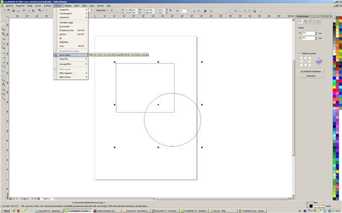 corel draw x4 tools and functions pdf
